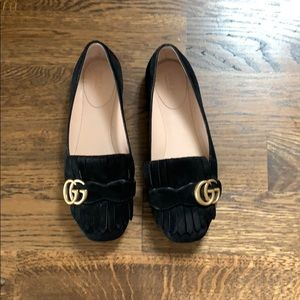 Gucci Marmont Flats